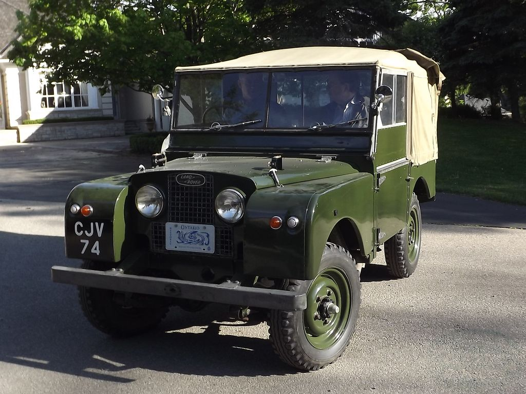 1951 Series 1 Land Rover 01
